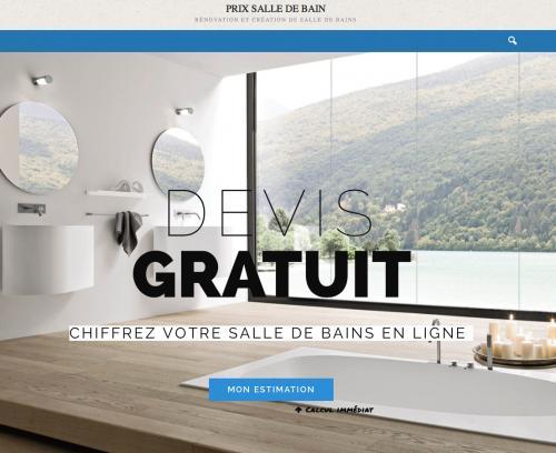 calculateur de devis de salle de bains en ligne pour d terminer votre. Black Bedroom Furniture Sets. Home Design Ideas